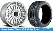 Rotiform Winter Alloy Wheels And Snow Tyres 20 For Ford Explorer [mk5] 11-19