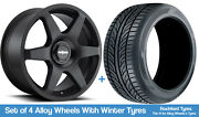 Rotiform Winter Alloy Wheels And Snow Tyres 18 For Audi S1 [8x] 14-18