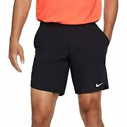 Nike Menand039s Nikecourt Flex Ace 9and039and039 Tennis Shorts Xxl Black