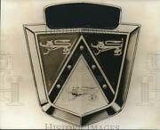 1974 Press Photo Ford Automobile Emblem With The Coat Of Arms - Hcx01332