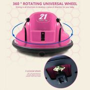 Kidzone Kid Gift Astm-certified Electric 6v Ride On Bumper Car W/ Remote Control