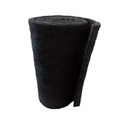 Aquarium Carbon Pad - Cut To Fit Carbon Infused Filter Pad Media For Crystal And