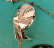 1966-72 Mopar A Or B-body Left Door Remote Control Mirror Nice Chrome Works Well