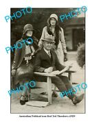 Old 8x6 Photo Featuring Australian Political Icon Red Ted Theodore C1929