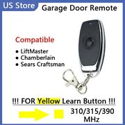 Gate Garage Door Opener Remote Control 390mhz For Liftmaster 891lm 893lm Key Fob
