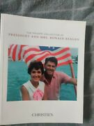 The Private Collection Of President And Mrs. Ronald Reagan