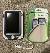 Leap Pad Ultra Pink And White Tablet Learning N33300 With New Gel Skin Tested