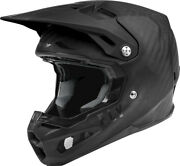 Fly Racing Mens Formula Carbon Solid Motorcycle Helmet Matte Black All Sizes