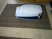 Vintage Evinrude Speed Twin Hood For Outboard Motor