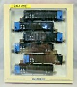 Walthers Ho Scale Gold Line Bethlehem 4000cf 3-bay Hopper 6-pack Western Pacific