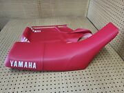 Tw200 Seat Cover 1987 To 2019 Model + Strap Red Y-127