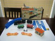Vintage Battery Operated Super Smoking Switch Train Set