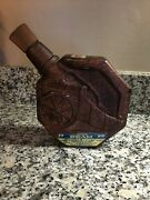Vintage Jim Beam Cannon Decanter 1970 Pierce Glass Company American Made In Pa