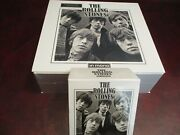 Rolling Stones Mono Limited Edition Out Of Print Rare 16 Lp 180 Gram + Cd Boxes