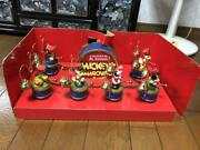 Disney Limited Edition Christmas Mickey Ornaments Music