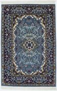 Teal Blue New Hand-knotted Kirman 3x4 Oriental Home Decor Wool Area Rug Carpet