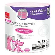 Owens Corning Rf10 Ecotouch 15 In. X 32 Ft. R13 Fiberglass Faced Insulation Roll