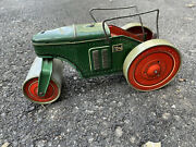 Pre Wwii Tippco Tipp And Co. Tin Toy Wind Up Roller Made In Germany U.s Zone.