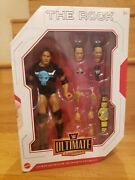 Wwe The Rock Mattel Ultimate Edition Elite Exclusive Ships Today
