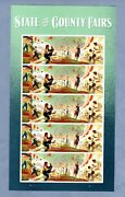 2019 Sc 5401-04 Forever 55c State And County Fairs Sheet Of 20 Stamps