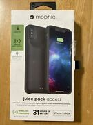 Mophie Juice Pack Access Battery Case For Apple Iphone Xs Max - Black