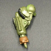 Real Steel Atom Build-n-battle Army Green Zeus Right Arm Parts Replacment 2011