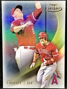 Mike Trout 2016 Topps Gold Label Class 1 Masterpiece True 1/1 Rare Angels