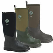 Mens Muck Boots Chore Classic Tall Stable Farm Wellington Wellies Sizes 4 To 14