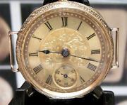 Antique Vintage Rare Swiss Omega Solid 18k Gold Transition Fob / Wrist Watch