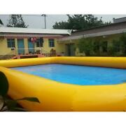 Factory Direct Giant Pvc Inflatable Swimming Pool 0.7mm Pvc Mesh Cloth