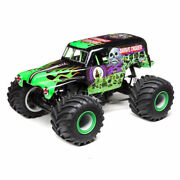 Losi Lmt Grave Digger Rtr 1/10 4wd Solid Axle Monster Truck W/ Dx3 2.4ghz Radio