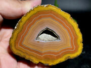 Rough Agate / Achat Nodule Half Chinese Fighting Blood Agate Xuanhua 303g Ab/b
