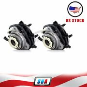 Front For 1998-2000 Ford Ranger Mazda B3000 B4000 Wheel Hub And Bearing 4x4 Abs