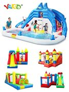 Yard Inflatable Bounce House Inflatable Water Slide Pool Bouncy Castle For Kids