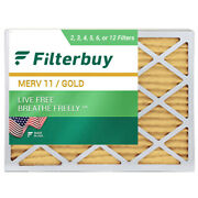 Filterbuy 20x22x1 Air Filters Pleated Replacement For Hvac Ac Furnace Merv 11