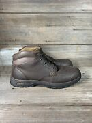 Cabelas Brown Leather Boots Size 13