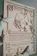 New Daniel Arsham Pink Crystalized Charizard Card Le 500 Pokemon In Hand Ready