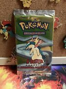 Neo Genesis 1st Edition Sealed Booster Pack Unweighed Typhilosion Art