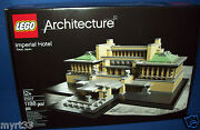 21017 Lego Architecture - Imperial Hotel Sealed New Nisb 1188 Pc