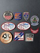 Vintage Racing Patches
