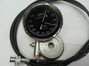 2setx Vintage Replica Smiths Speedometer 0-120m And 54and039and039cable And Drive For Norton