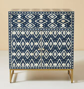 Wooden Bone Inlay Handmade Traditional Modern Blue Sideboard And Buffet