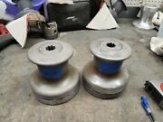 Pair Barlow 24 Two Speed Winches
