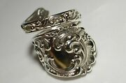 Maintenon By George Shiebler Sterling Spoon Ring Antique Rare  Free Shipping