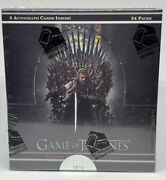 Rittenhouse Game Of Thrones Complete Season 1-8 Trading Cards Hobby Box Sealed