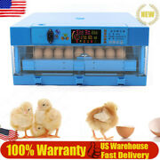 64 Eggs Fully Automatic Digital Incubator Egg Hatching Machine For Chicken, Duck