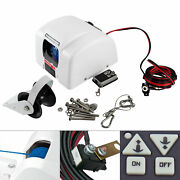 12v 25lbs Saltwater Boat Electric Anchor Winchandremote Wireless Control Marine Us