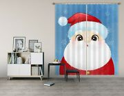 3d Santa Claus Hat Zhua1089 Blockout Photo Curtain Fabric Window Zoe