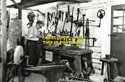 L092850 A Smith At Work In His Shop. 1840. Tools From Salaman Collection. City M