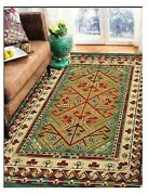 Natural Organic Wool Area Rug 7x 10 Ft 200x300 Cm